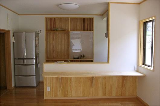 対面式キッチンにリフォーム
