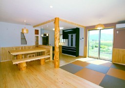 美作檜の香る家