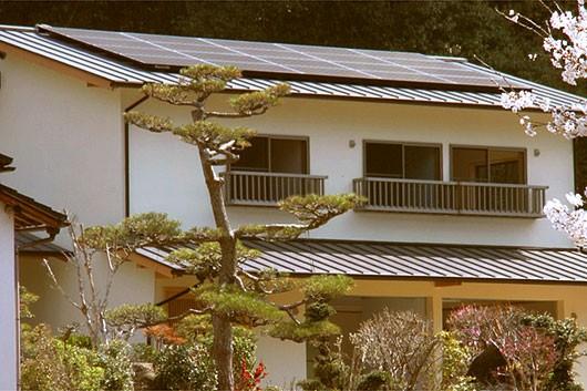 檜造りの家