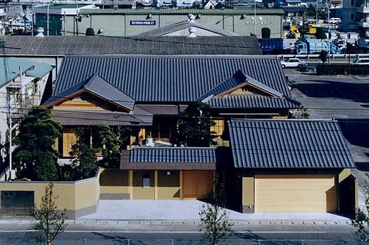 純和風の平屋住宅