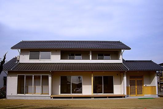 広縁・濡れ縁のある和風住宅