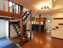 階段とファミリールーム